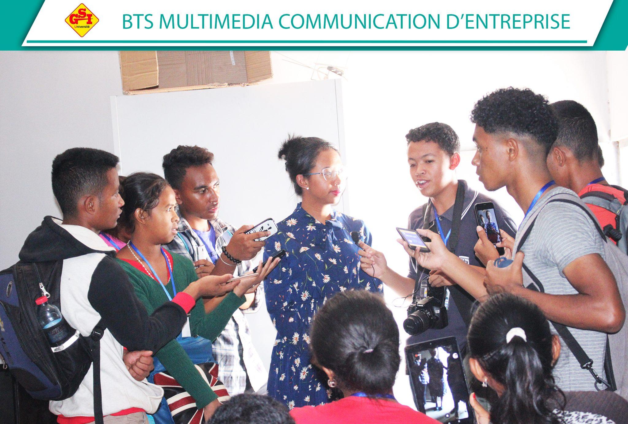 BTS MULTIMEDIA COMMUNICATION D'ENTREPRISE