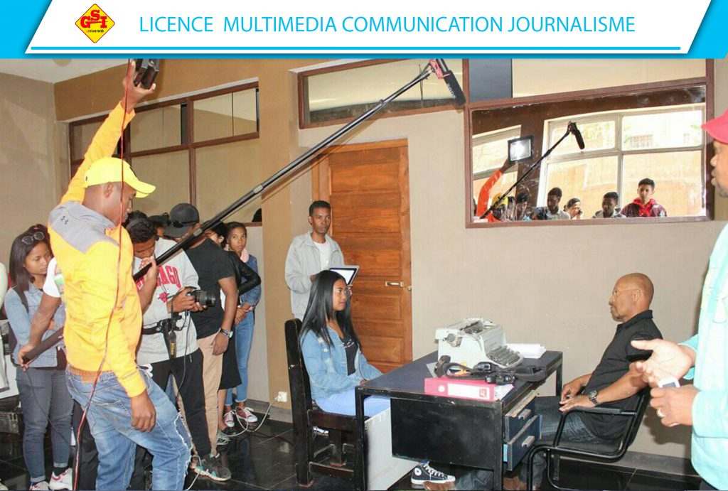 LICENCE MULTIMEDIA COMMUNICATION JOURNALISME